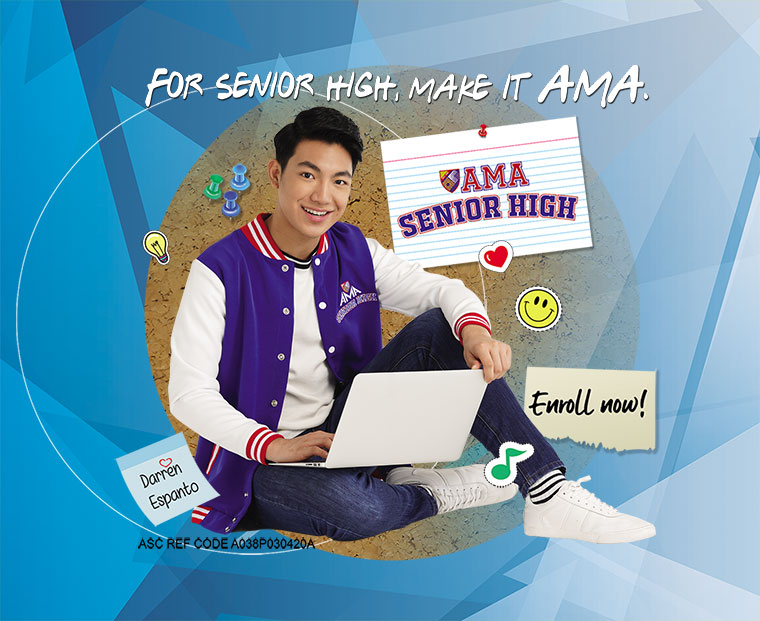 ama senior high - darren