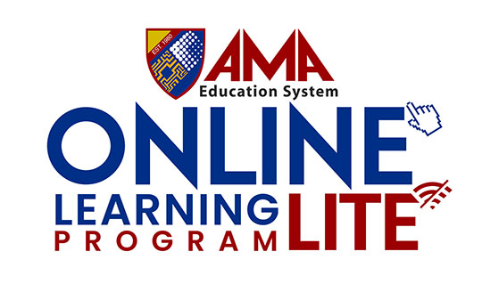 2 ways to learn at AMA - Online lite logo