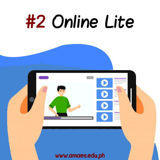 2 ways to learn at AMA - Online Lite